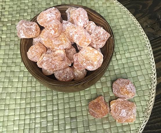 Кумкват оранжевый в сахарной пудре