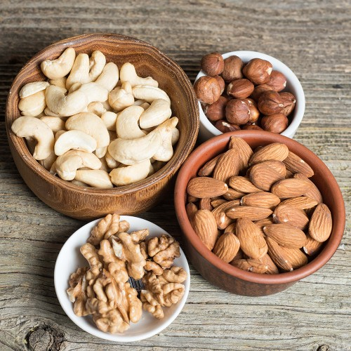 Сырые орехи