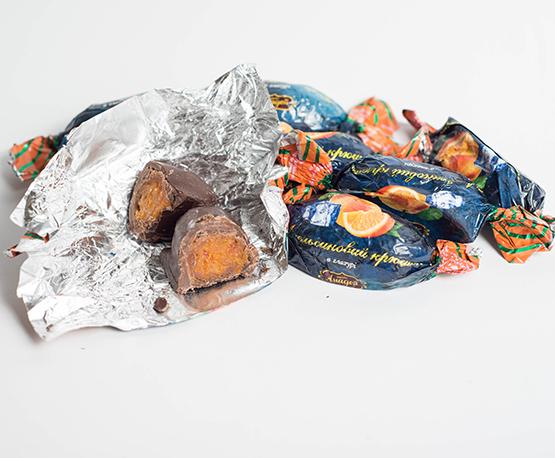Конфеты «Апельсиновый крюшон в глазури»