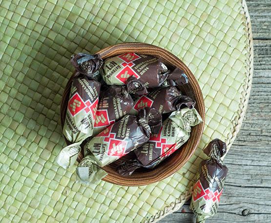 Конфеты «Батончик №1» шоколадно-сливочный вкус