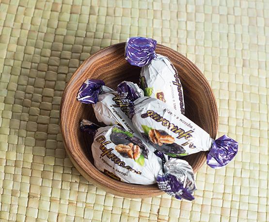 Конфеты «Чернослив с орехом»