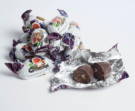 Конфеты «Инжир с орехом»