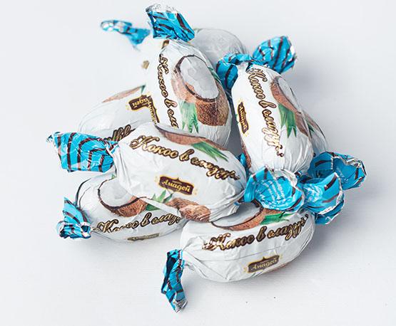 Конфеты «Кокос в глазури»