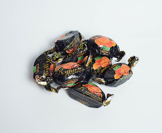 Конфеты «Курага с миндалем в глазури»