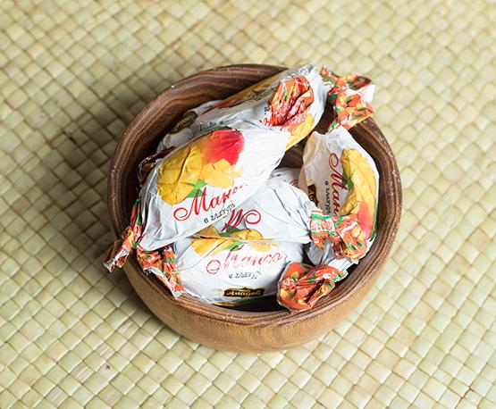 Конфеты «Манго в глазури»