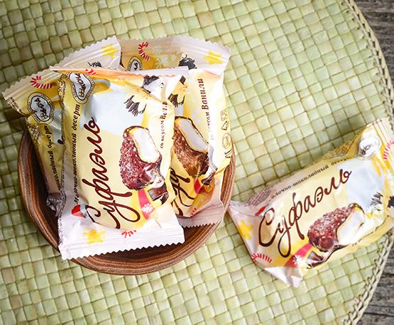 Конфеты «Суфаэль» со вкусом ванили